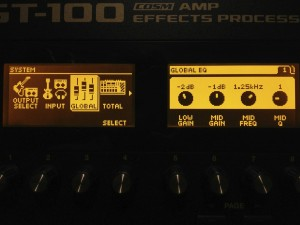 Guitar effect patches for the Boss GT-10